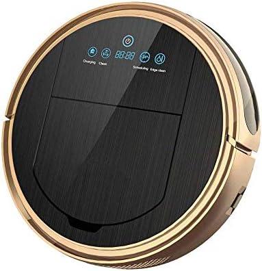 KaiKai Robot de Limpieza robótica Vacuum Cleaner Mop vacío Barrido 3 en 1 Limpiador for Mascotas de Pelo Wi-Fi Robot Aspirador Conectado, Negro (Color : Black): Amazon.es: Hogar