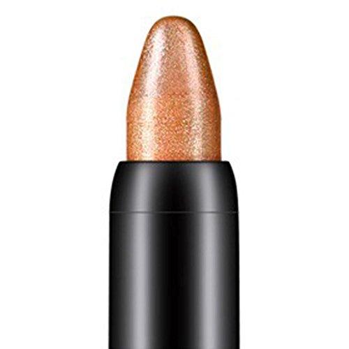 New Sale!Beauty Highlighter Eyeshadow Pencil,ZYooh Waterproof Eyeshadow Stick Shimmer Eye Liner Shadow Pen (E)