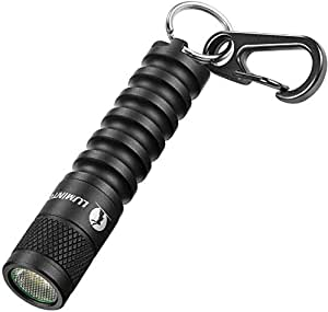 led Keychain Flashlight Torch,mini keyring flashlight Torch-LUMINTOP EDC01,120 lumens portable EDC small Flashlight Torch,36 hours Long lasting,3 modes,IPX8 Waterproof,Powered by AAA battery Perfect for EDC ,Dog Walking ,Camping , Hiking etc