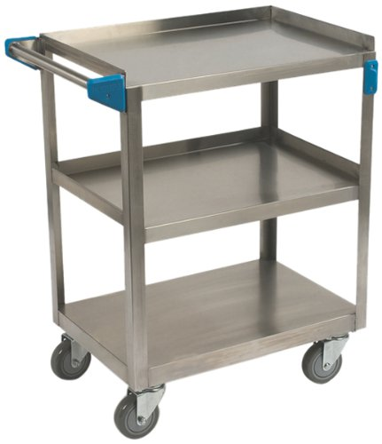 Carlisle  (UC3031827) 18'' Stainless Steel Utility Cart by Carlisle