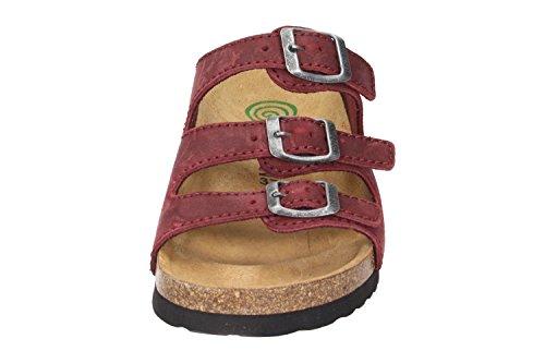 Dr. Brinkmann Damen Tiefbett Pantolette Rot - Schuhe in Übergrößen Rot