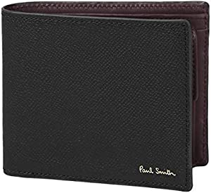 ポールスミス Paul Smith カラーフラッシュ 二つ折り財布 メンズ ウォレット 2つ折り財布 純正化粧箱付き ショップバッグ付き 873106 PSC414