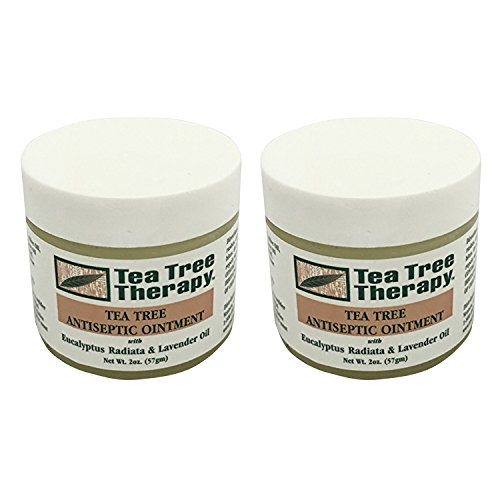 Tea Tree Therapy Tea Tree Oil Ointment 2 Ounce (Best Ointment For Ringworm)
