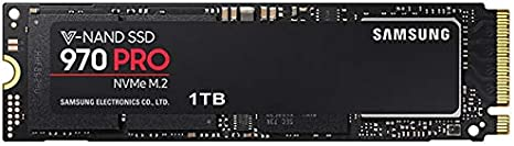 Samsung 970 PRO MZ-V7P1T0E 1 TB Solid State Drive - PCI Express (PCI Express 3.0 x4) - Internal - M.2 2280-3.42 GB/s Maximum Read Transfer Rate - 2.64 GB/s Maximum Write Transfer Rate - 256-bit