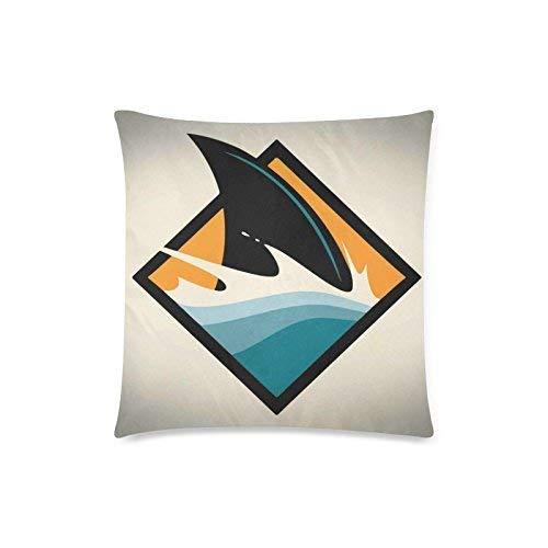 nikeely Aleta de Tiburon Square Throw Pillowcase Protector 18