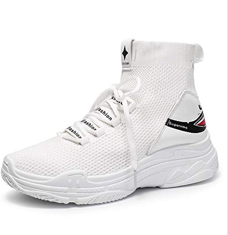 Zapatillas Running Hombre Oferta Deportivas Transpirables Fitness Casual Versión De Calzado Casual Zapatillas De Running Hip-Hop High-Gang Sports 6 G: Amazon.es: Zapatos y complementos