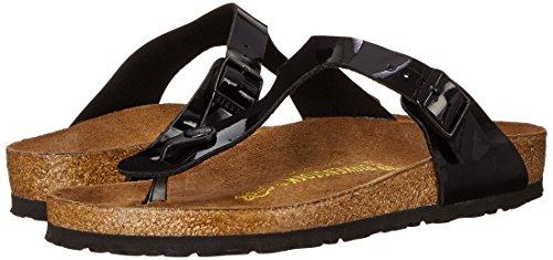 Birkenstock Women's GIzeh Thong Sandal, Black Patent, 38 M EU/7-7.5 B(M) US by Birkenstock (Image #14)