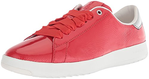 Cole Haan Womens Grandpro Tennis Leather Lace Ox Fashion Sneaker Aura Orange g2jtF