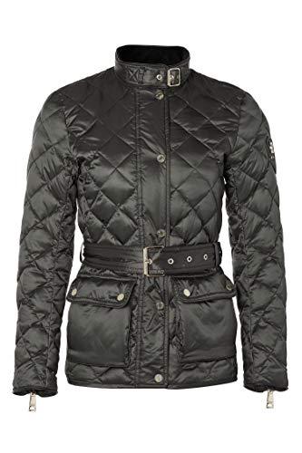 Holland Cooper Heritage Diamond Quilt Ladies Jacket in Khaki