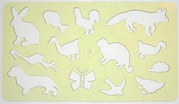 Koh I Noor 074905600000 Zeichnen Vorlage Tiere Transparent Gelb