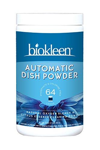 Biokleen Automatic Dish Powder, Citrus Essence, 2 (Natural Automatic Dishwashing Powder)