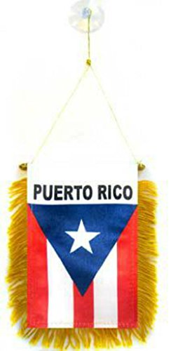 Wholesale lot 3 Puerto Rico Mini Flag 4