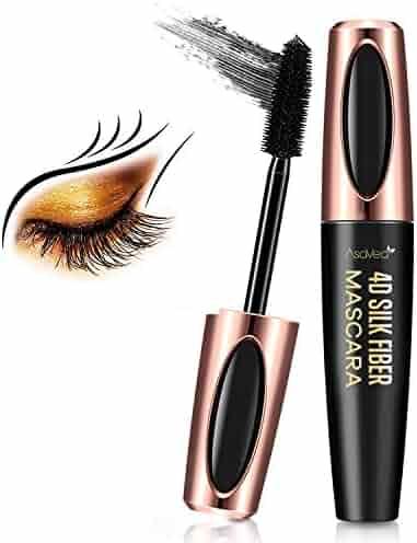 2e6522cd4f4 Natural 4D Silk Fiber Eyelash Mascara, Lengthening & Thick, Long Lasting,  Waterproof &