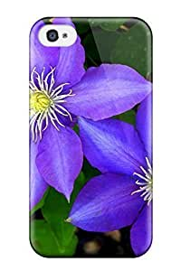 1227091K20995043 Columbine Flower Durable Case For HTC One M7 Cover PC Flexible Soft Case
