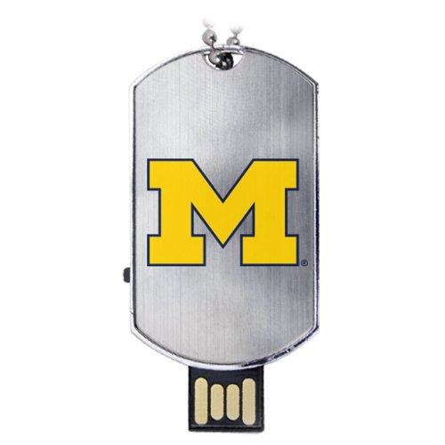 - Michigan Wolverines Flash Tag USB Drive 16GB