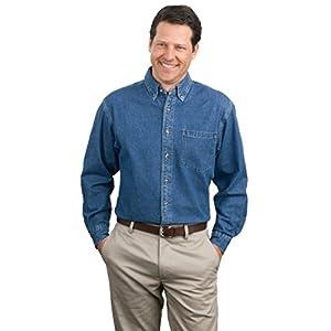 Port Authority Men's Heavyweight Denim Shirt