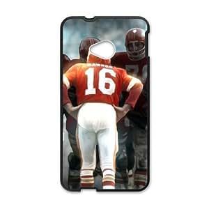 Kansas City Chiefs HTC One M7 Cell Phone Case Black persent zhm004_8438034