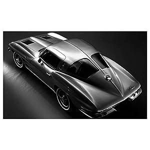 1963 Chevrolet Sting Ray Corvette Automobile Photo Poster