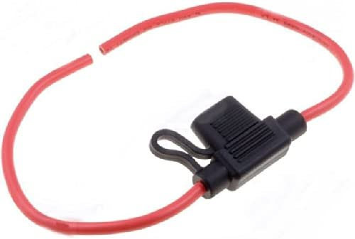 Minival Kfz Sicherungshalter Mit Kabel Für Mini Kfz Elektronik