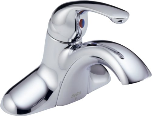 Delta Innovations Centerset (Delta Innovations 541-DST Single Handle Centerset Bathroom Faucet, Chrome)