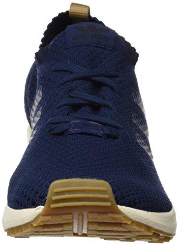 adidas Zx Flux Primeknit, Zapatillas para Hombre Azul (Co Navy / Co Navy / Gum4)
