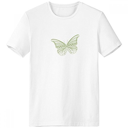 Butterfly Clothing Kite (Light Green Butterfly Kite Crew-Neck White T-shirt Spring Summer Tagless Comfort Sports T-shirts Gift)
