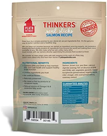 Plato Thinkers Real Meat Sticks Dog Treats, Treats that do the Trick