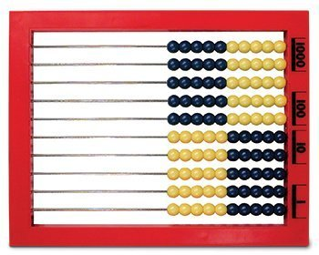 7 Pack LEARNING RESOURCES 2 COLOR DESKTOP ABACUS