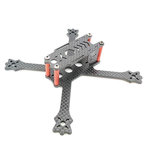Yoton Accessories AlfaRC ATX-140 140mm Wheelbase 3mm Arm Ture X 3K Carbon Fiber Frame Kit for RC Drone FPV Quadcopter Multicopter Part Accessories