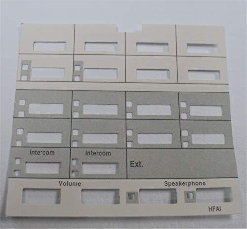 Lot/Pack of 5 Paper Desi/Label / Strip for AT&T Avaya Lucent Partner MLS-12 MLS-12D Phone