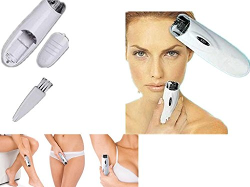 Mystyleshop-PL Automatic Electric Remover Tweezer Trimmer Epilator Women Hair Shaver Brush