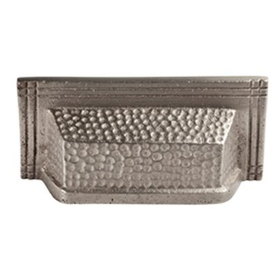 The Copper Factory CF119SN Solid Cast Copper Rectangular Bin Pull On 3.5-Inch Centers, Satin (Rectangular Bin Pull)