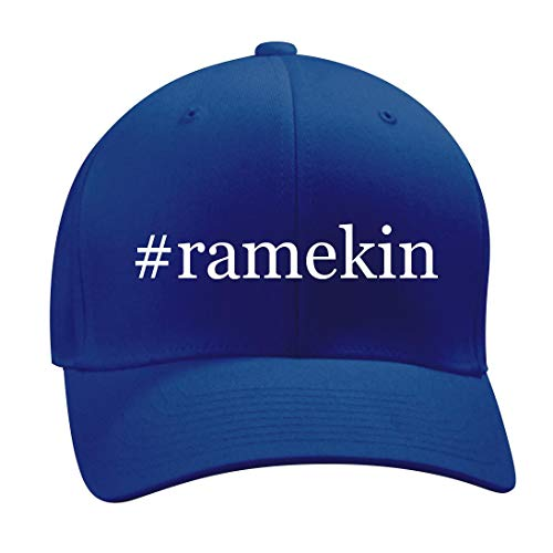 #Ramekin - A Nice Hashtag Men's Adult Baseball Hat Cap, Blue, Large/X-Large ()