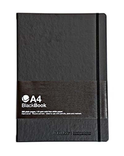 - MTN Authentic Blackbook Branded Sketch Book by Montana Colors (A4)