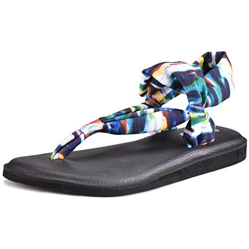 Boree Yoga Sling Sandals for Women, Slingback Yoga Mat Flip Flop Sandal for sale
