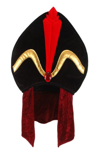 Elope Disney Aladdin Jafar Costume Hat for Men (Hats From Around The World)