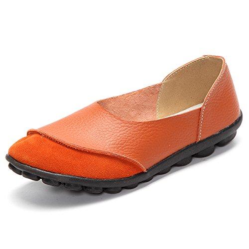 amp;G Plana Flats Mujer Suave NGRDX Casual Y B Comodidad Femenino Zapatos Mocasines De Mujeres HwdPd6