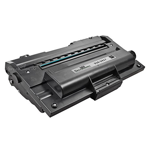 1600n Laser Printer (Speedy Inks - Compatible Dell 310-5417 X5015 High-Yield Black Toner Cartridge for your Dell 1600N Laser Printer)