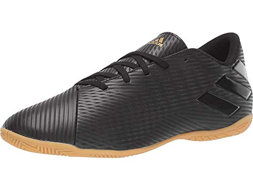 adidas Men's Nemeziz 19.4 Indoor Soccer Shoe, Utility Black, 11 M US