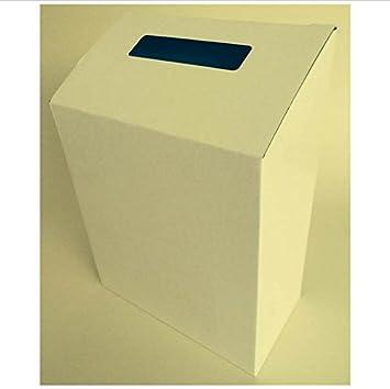 Weiß Karton Faltbar Wahlurne Und Vorschlagsbox Geld