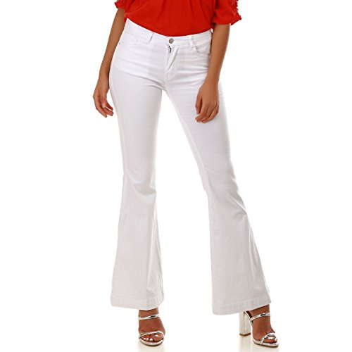 La Coupe Flare Jeans Blanc Modeuse wrqX6xr