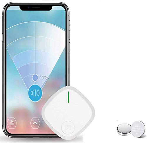 Key Finder, Hockvill Item Locator Wireless Wallet Tracker, Smart Tracker Bluetooth Tracker for Dogs, Kids, Cats, Luggage, Wallet, with app for Phone, Replaceable Battery Tracking Device