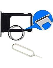 MMOBIEL Sim Tray Kaart Houder Nano Slot Compatibel met iPhone X (zwart)