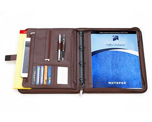 professional executive business padfolio portfolio case