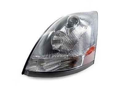 04-12 Volvo Vn Vnl Vnm 200 300 430 630 670 730 780 Truck Left Chrome Headlight