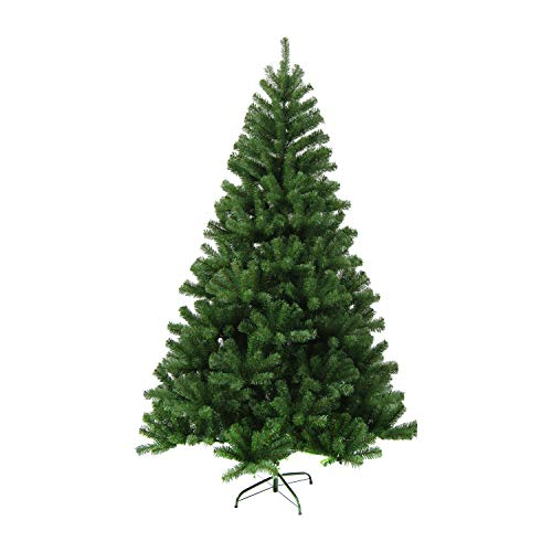 ALEKO CT71H12 Artificial Holiday Christmas Tree Premium Pine with Stand 6 Foot Green