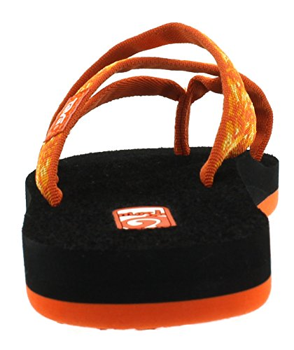 Femme Orange 872 Tongs Teva W's Olowahu hazel tPq7YI