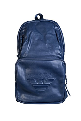 Armani Jeans Mens Weekender / Duffle / Gym Bag 932063 7A937 Size ONE SIZE Blue by ARMANI JEANS