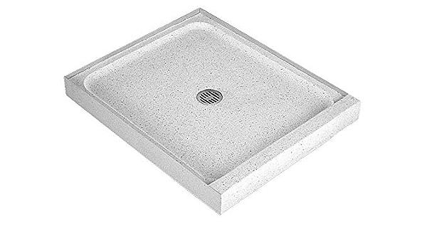 Fiat Products 48 X 32 X 4 Single Threshold Terrazzo Shower Floor Industrial Scientific