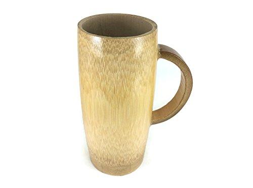 Beer Mug Bamboo Wood Handmade Beer Water Bar Tools Drink Glass Serving - Taylor Shadow Swift Eye